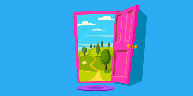 Door to a content marketing adventure