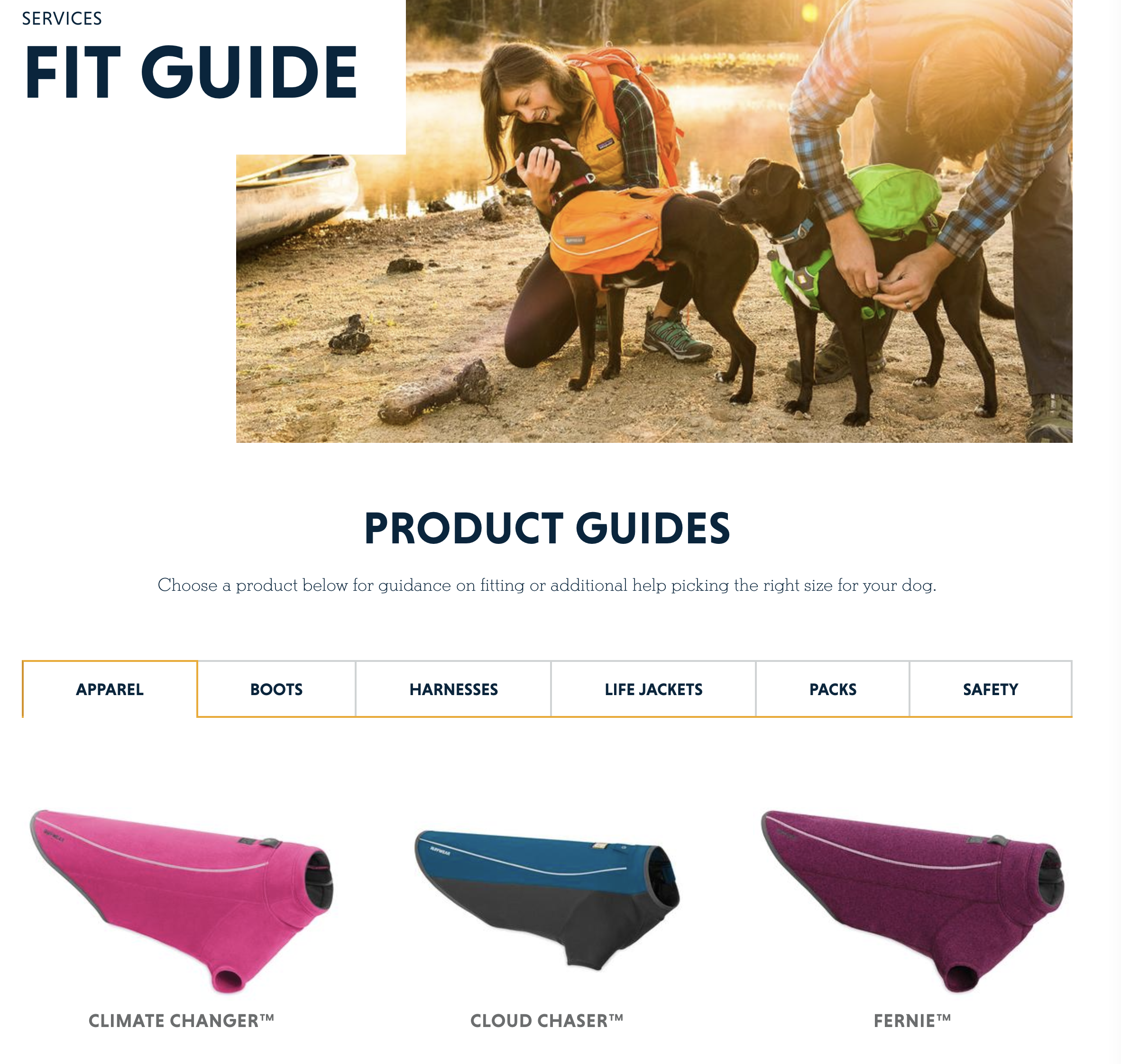 Ruffwear Content Marketing Example