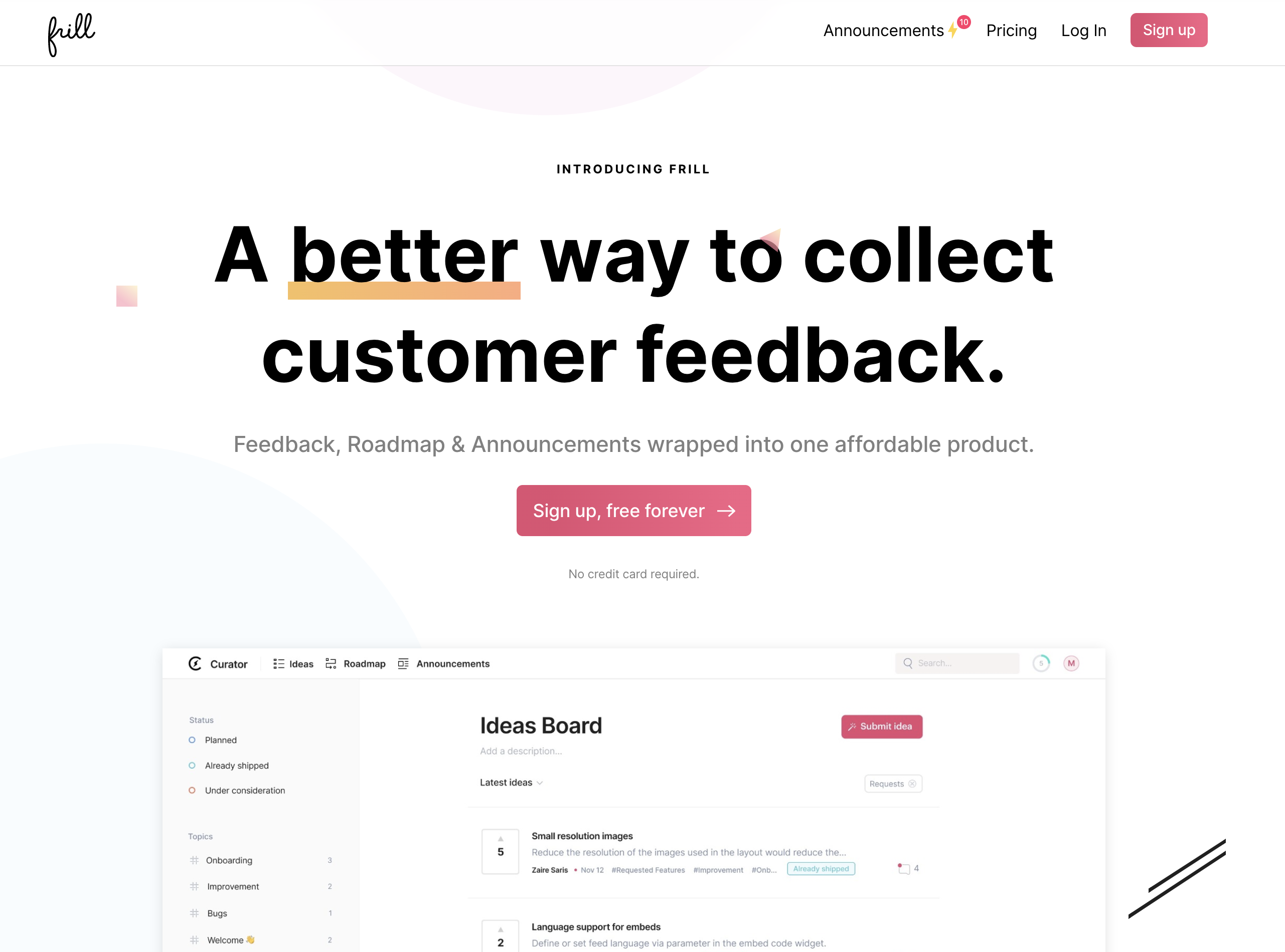 Customer Feedback SaaS