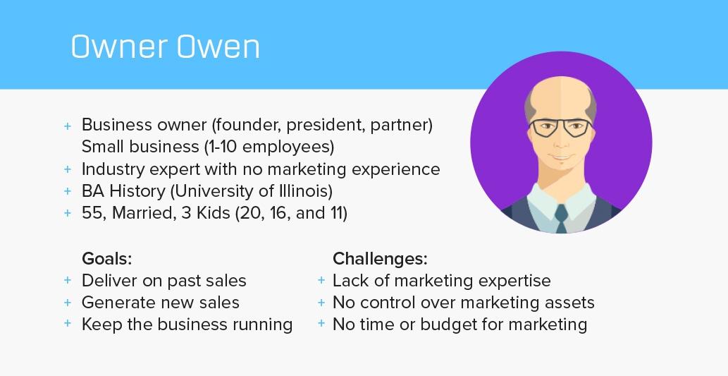 Marketing persona examples